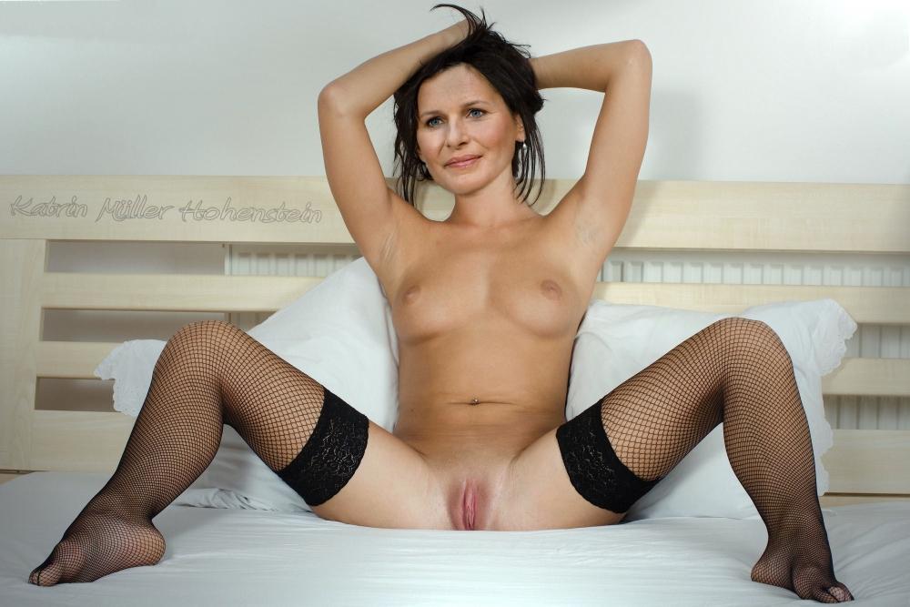 Катрин Мюллер-Хохенштайн голая. Фото - 18