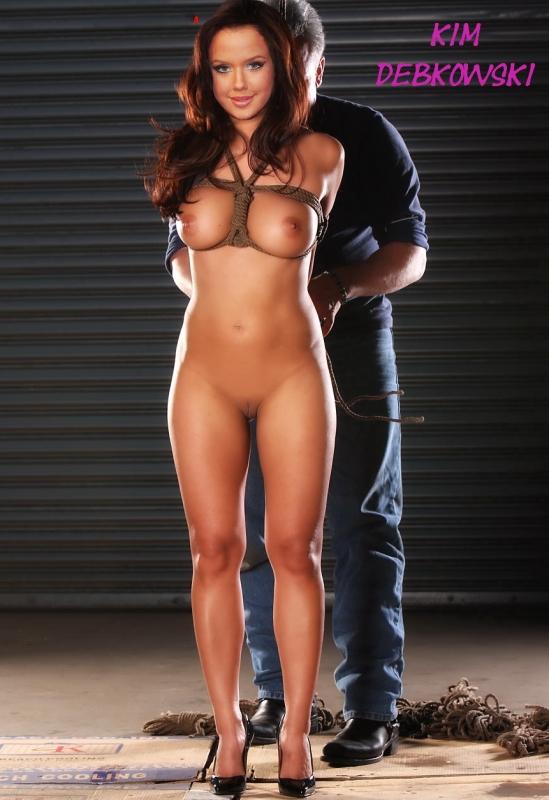 Ким Глосс голая. Фото - 1
