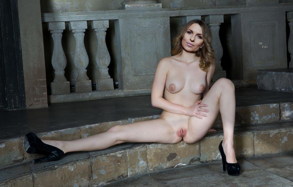 Laura Wontorra Nackt. Fotografie - 4