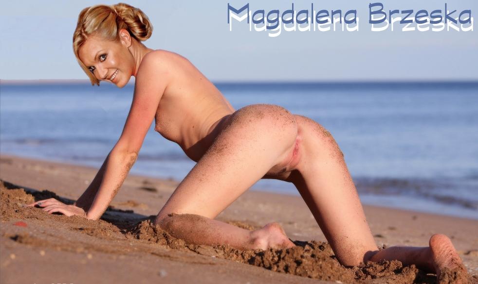 Магдалена Бжеска голая. Фото - 23