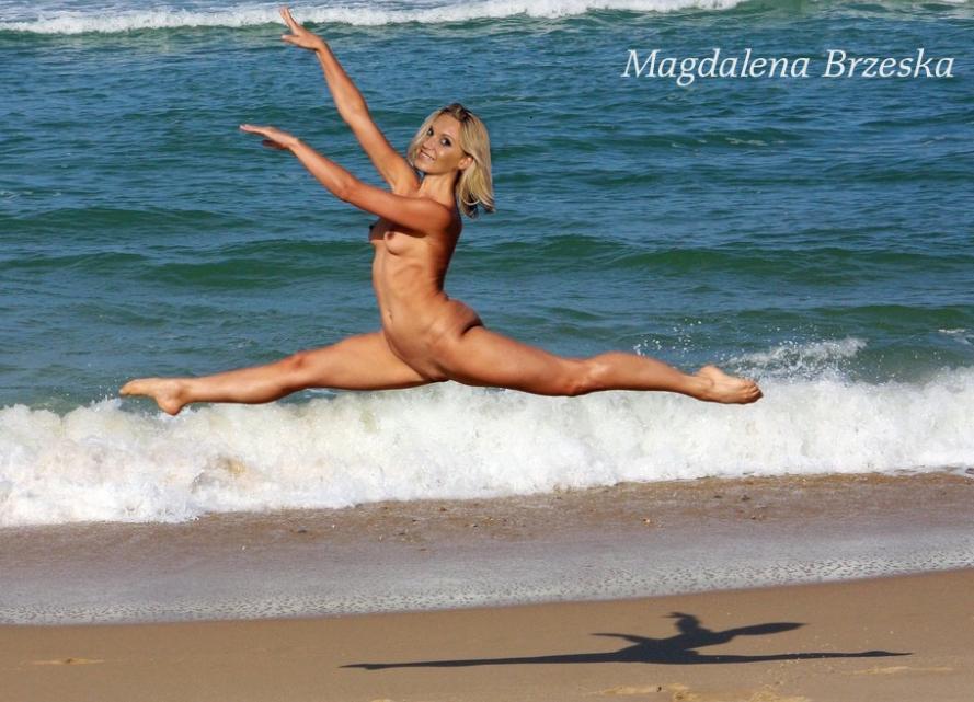 Магдалена Бжеска голая. Фото - 26
