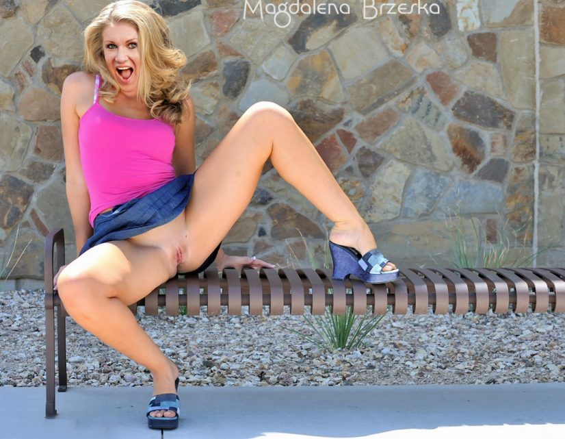 Магдалена Бжеска голая. Фото - 32
