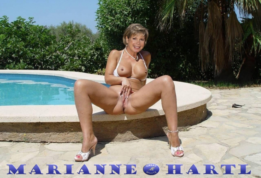 Marianne Hartl Nackt. Fotografie - 16