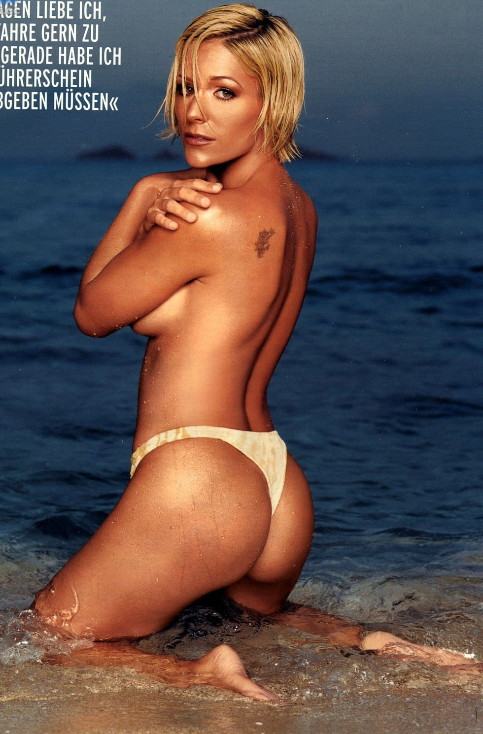 Мишель (Таня Хьюер) голая. Фото - 12