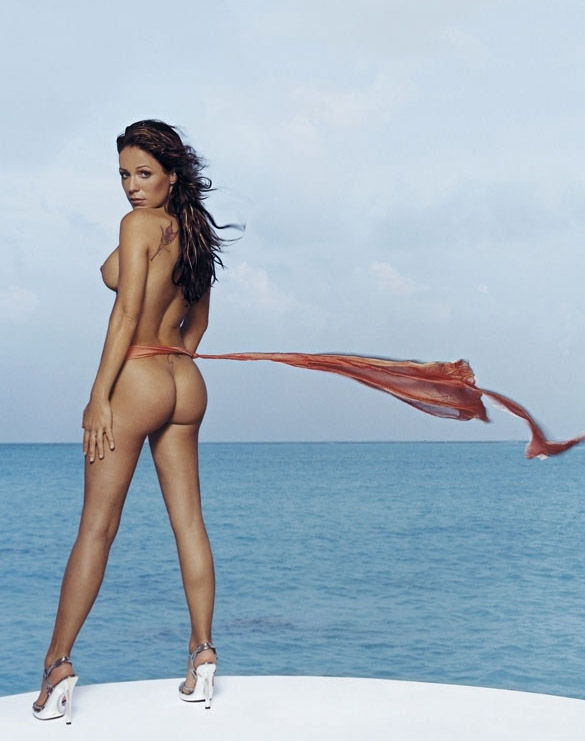 Мишель (Таня Хьюер) голая. Фото - 38