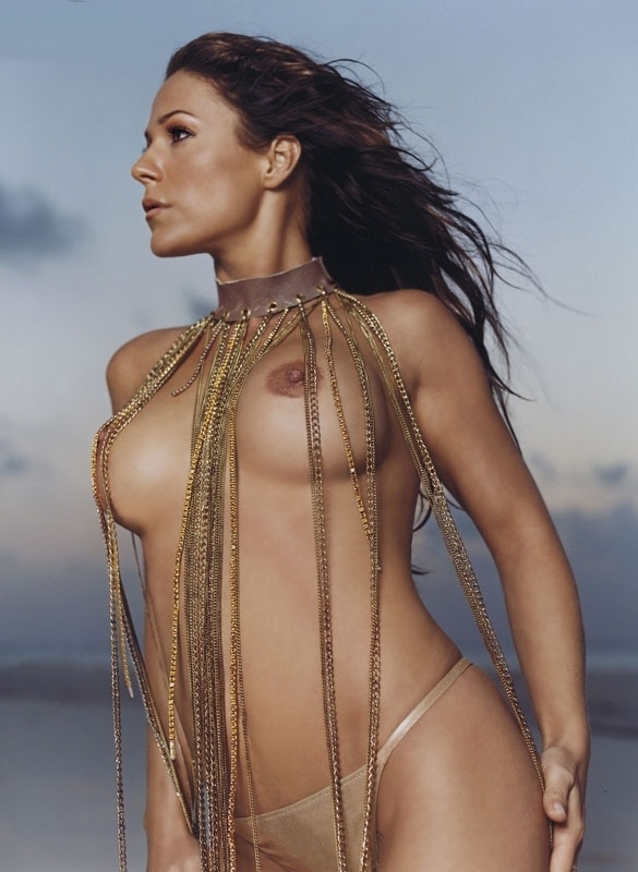 Мишель (Таня Хьюер) голая. Фото - 4