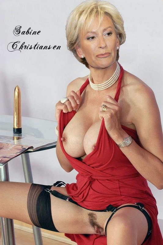 Сабина Кристиансен голая. Фото - 47