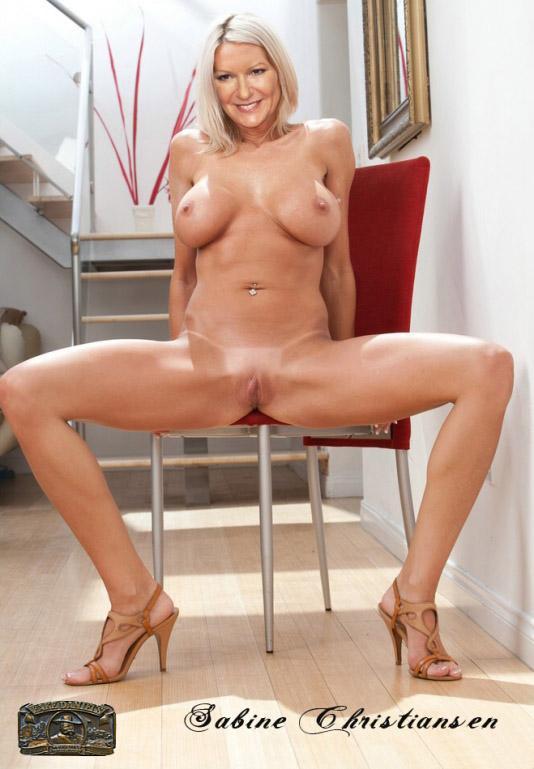 Сабина Кристиансен голая. Фото - 52