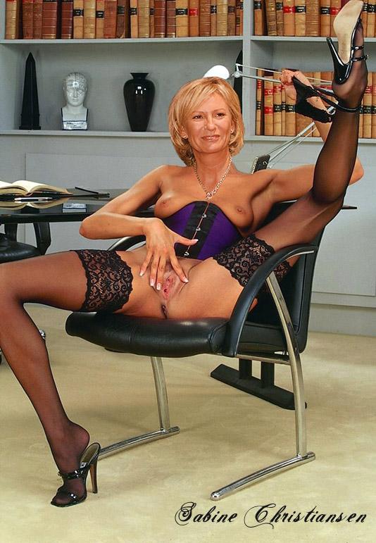 Сабина Кристиансен голая. Фото - 54