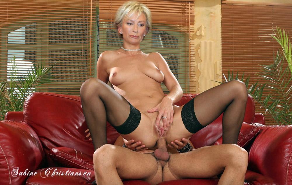 Сабина Кристиансен голая. Фото - 96