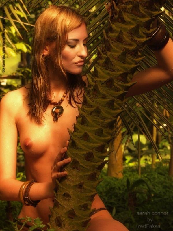 Сара Коннор голая. Фото - 34