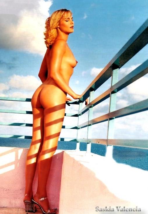 Саския Валенсиа голая. Фото - 3