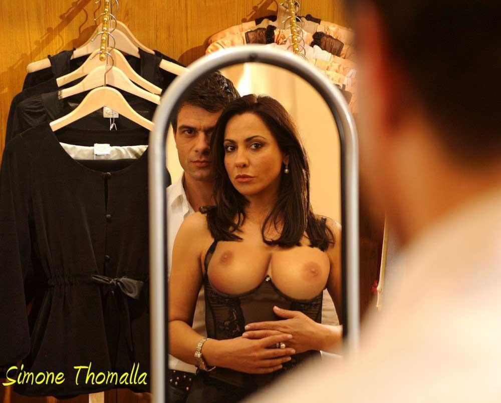 Tomala nackt simone Simone Thomalla
