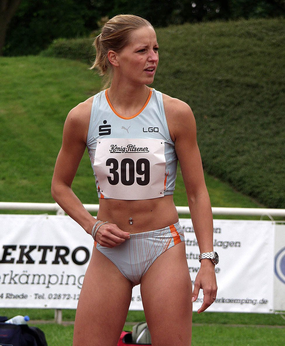 Track athletes naked — 7