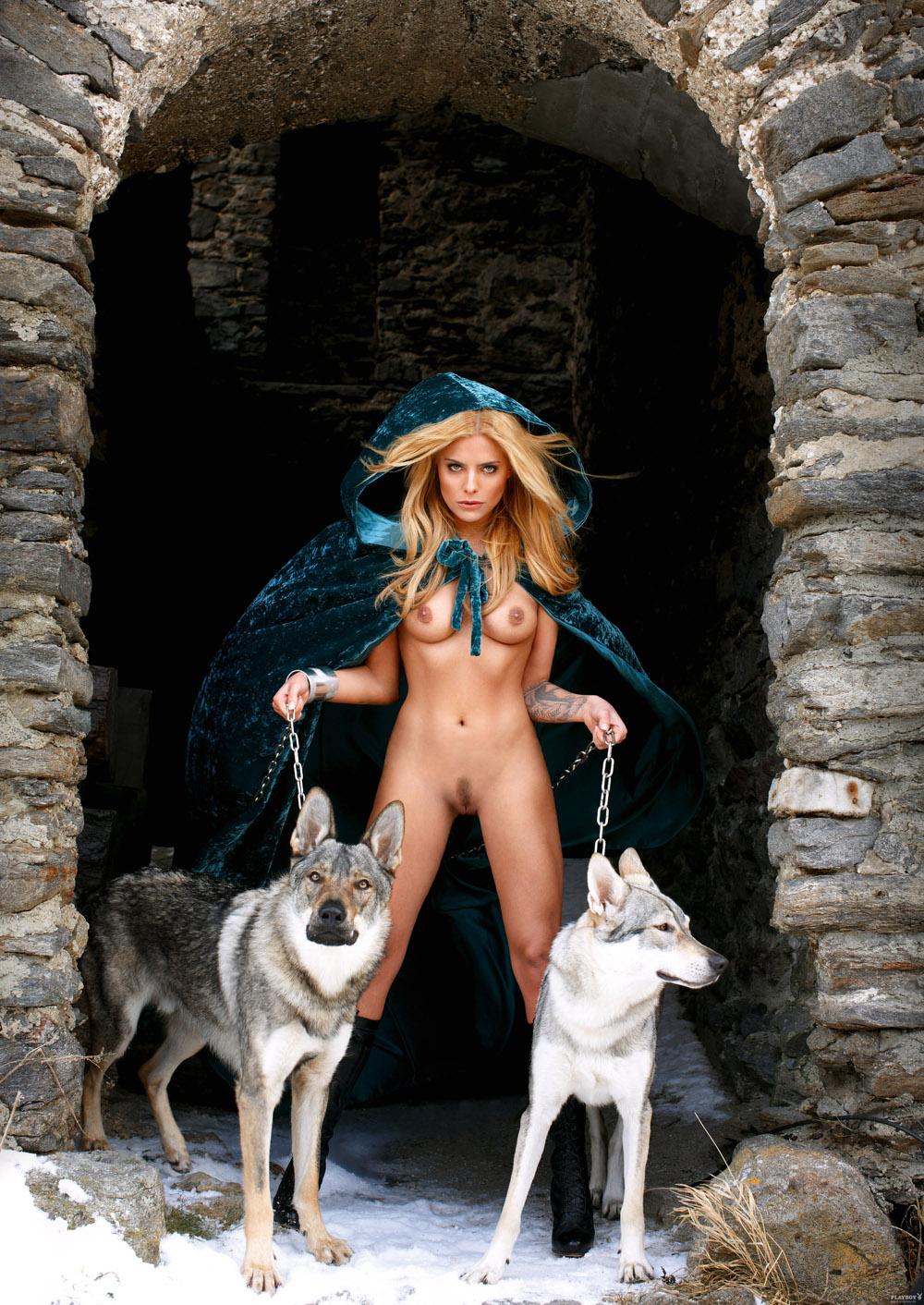 Sophia Thomalla Nackt. Fotografie - 59