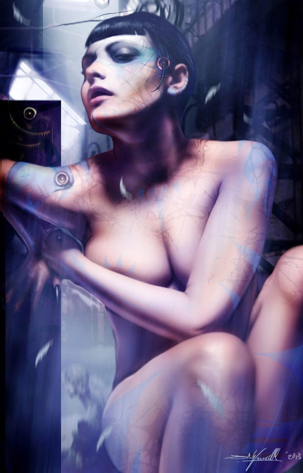 Sophia Thomalla Nackt. Fotografie - 63