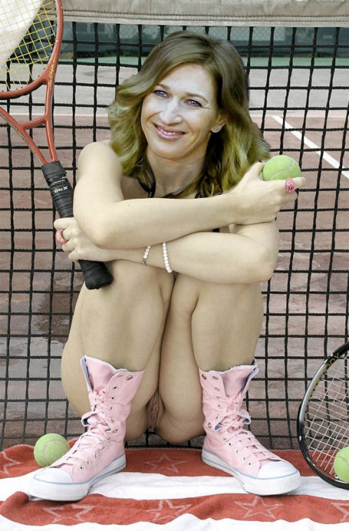 Steffi Graf nahá. Fotka - 15