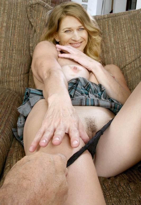 Steffi Graf nahá. Fotka - 27