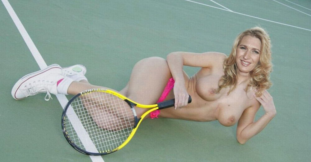 Steffi Graf nahá. Fotka - 66
