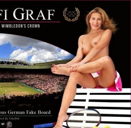 Steffi Graf nahá. Fotka - 86