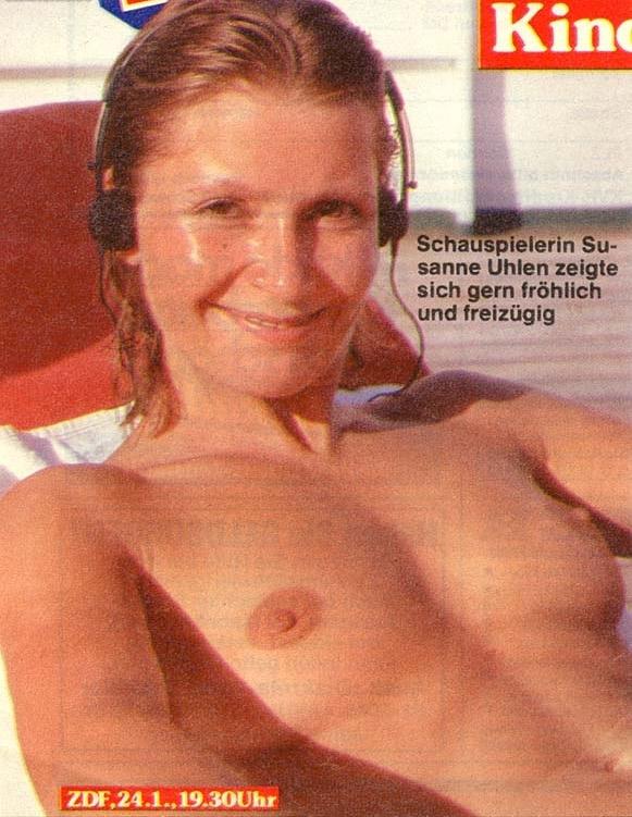 Сузанна Улен голая. Фото - 2
