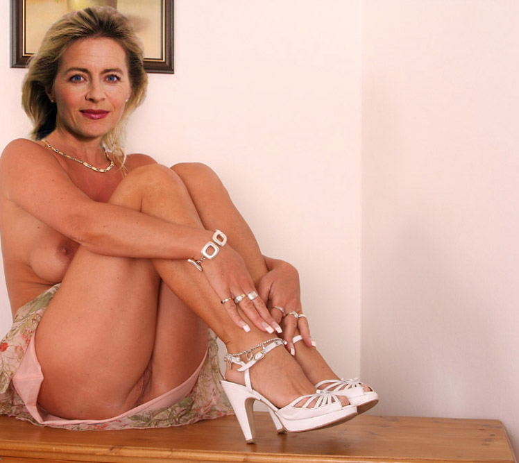 Ursula von der Leyen Nackt. Fotografie - 10