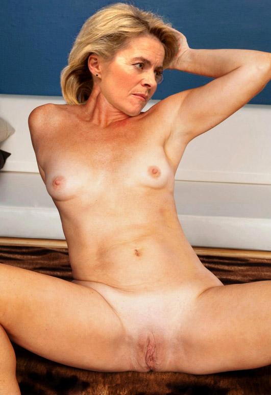 Ursula von der Leyen Nackt. Fotografie - 11