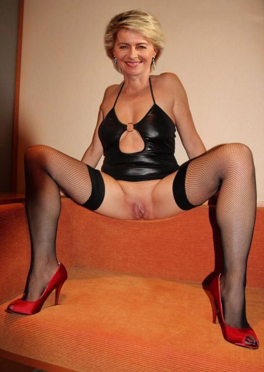 Ursula von der Leyen Nackt. Fotografie - 18