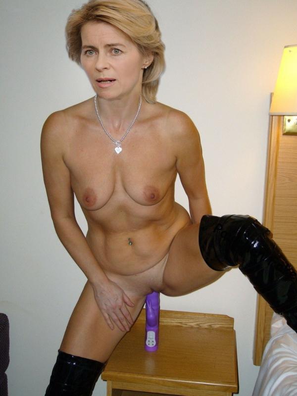 Ursula von der Leyen Nackt. Fotografie - 21