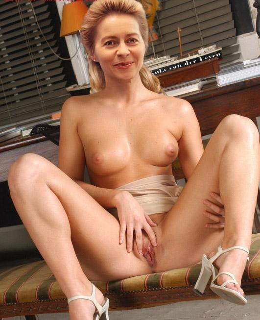 Ursula von der Leyen Nackt. Fotografie - 24