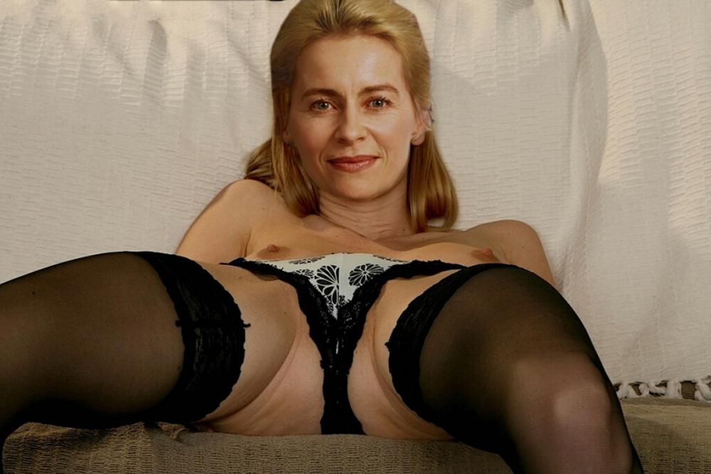 Ursula von der Leyen Nackt. Fotografie - 4