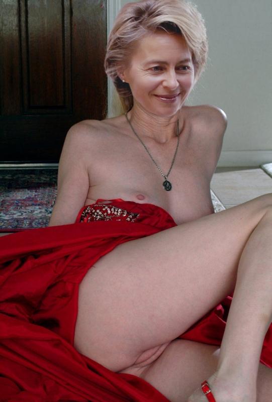 Ursula von der Leyen Nackt. Fotografie - 5