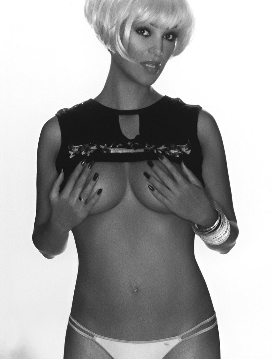 Верона Пут (Фельдбуш) голая. Фото - 1