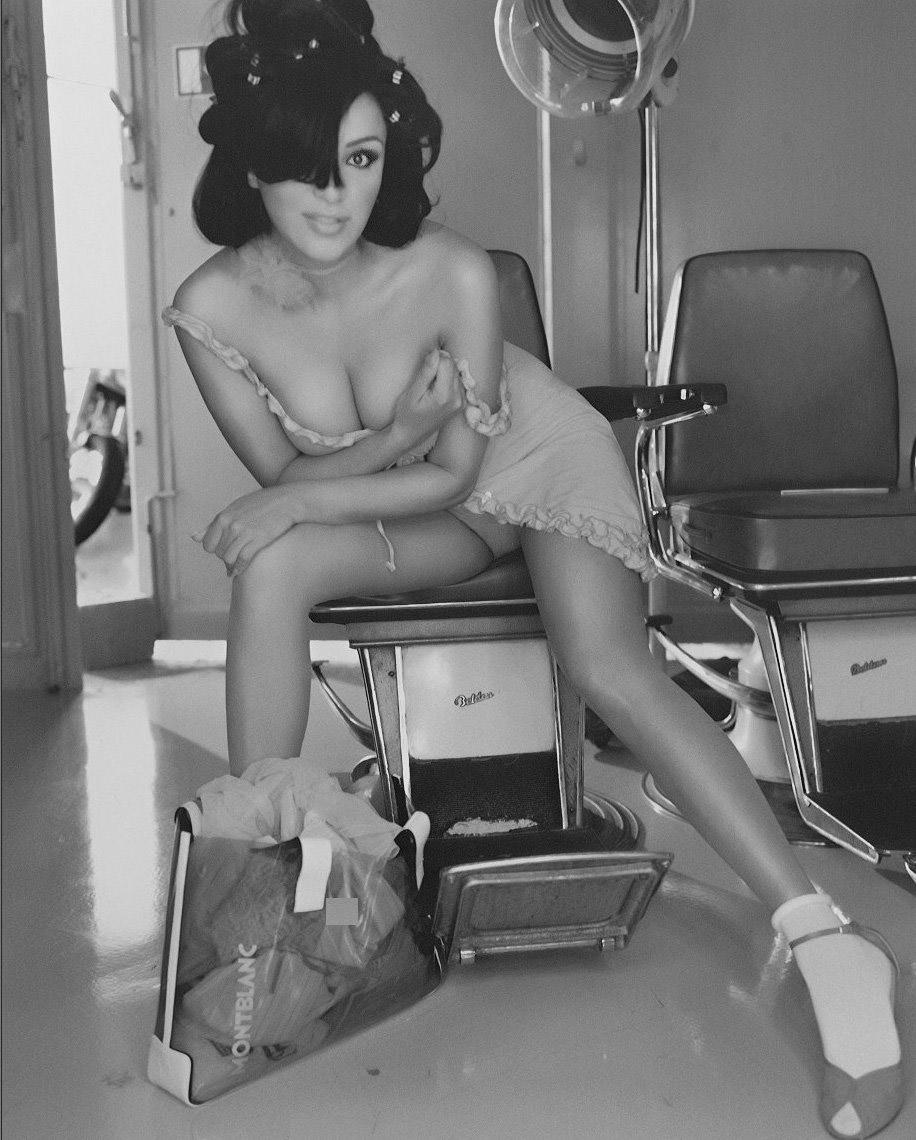 Верона Пут (Фельдбуш) голая. Фото - 125