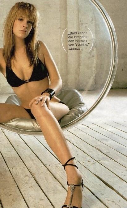 Ивонн Шрёдер голая. Фото - 2