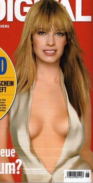 Ивонн Шрёдер голая. Фото - 5