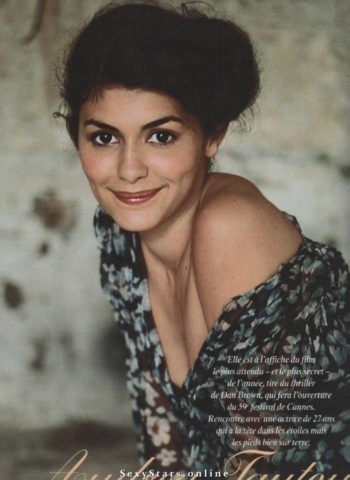 Audrey Tautou Nackt. Fotografie - 7