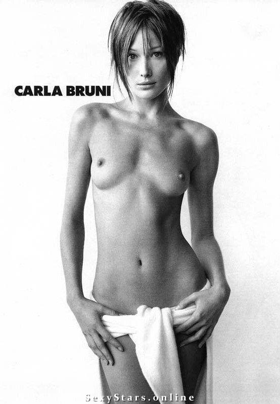 Карла Бруни голая. Фото - 12