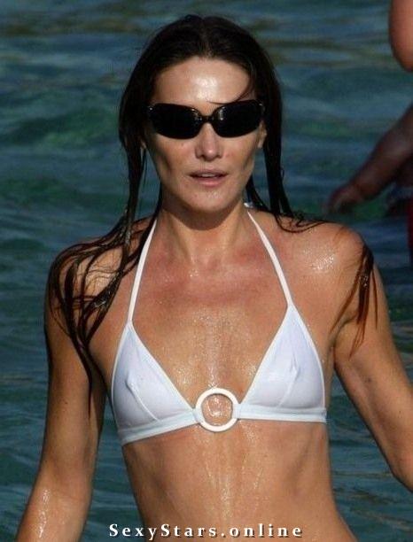 Карла Бруни голая. Фото - 2