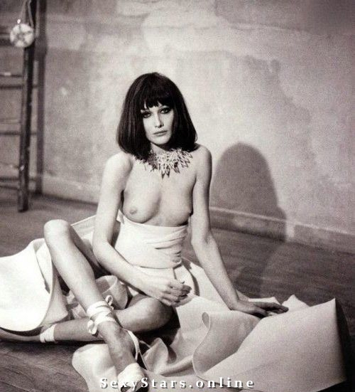 Карла Бруни голая. Фото - 50