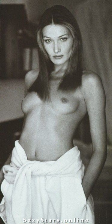 Карла Бруни голая. Фото - 52