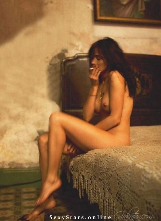 Emmanuelle Béart  nackt