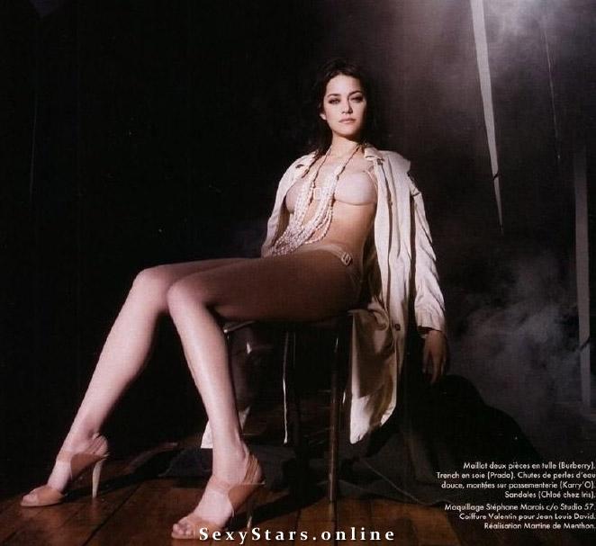 Marion Cotillard Nackt. Fotografie - 14
