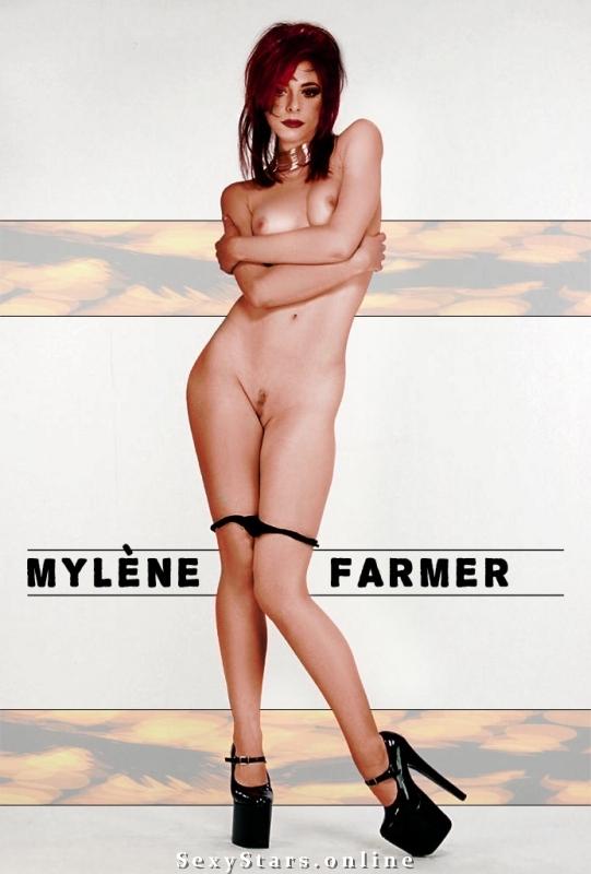 Милен Фармер голая. Фото - 45