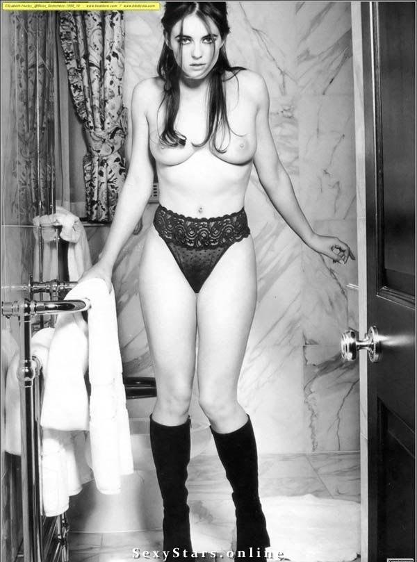 Элизабет Хёрли голая. Фото - 21
