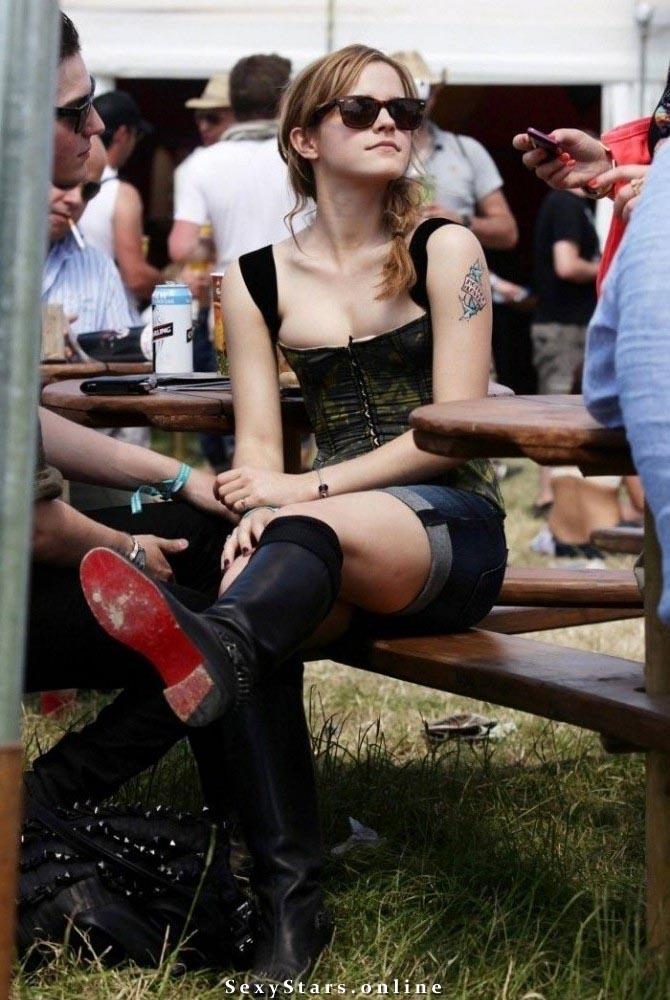 Эмма Уотсон голая. Фото - 28