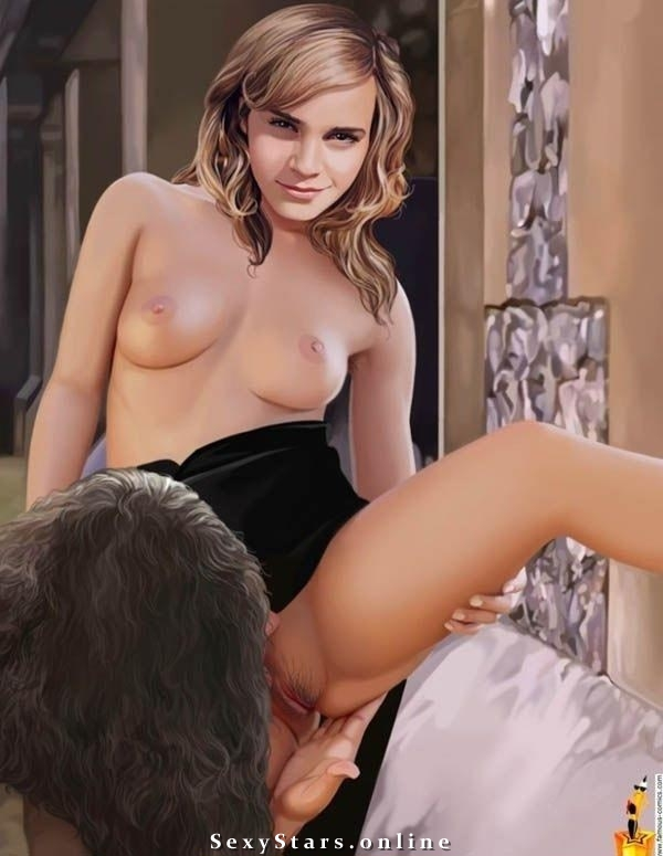 Эмма Уотсон голая. Фото - 7