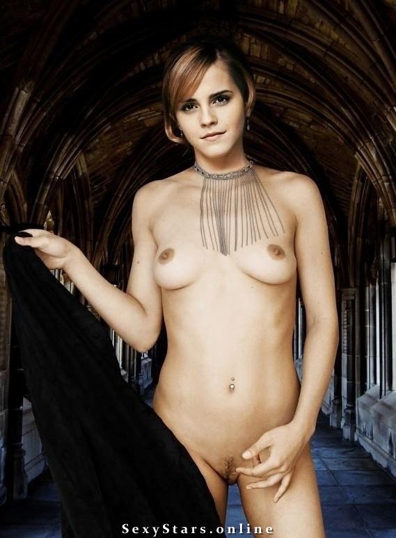 Эмма Уотсон голая. Фото - 73