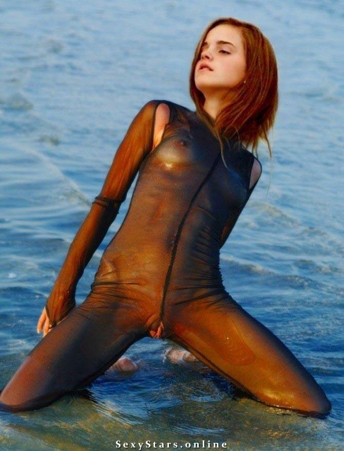 Эмма Уотсон голая. Фото - 89
