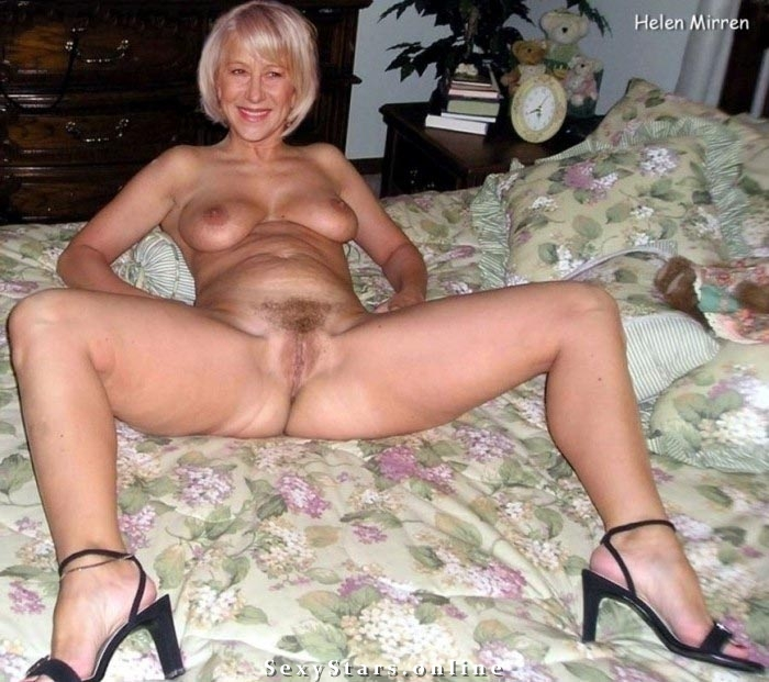 Хелен Миррен голая. Фото - 1